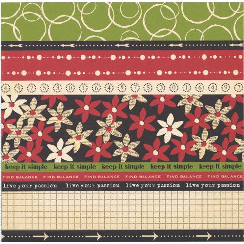 Scenic Route Paper - Designer Scrap Strips - Double Sided Cardstock - Cape Town 1