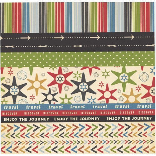 Scenic Route Paper - Designer Scrap Strips - Double Sided Cardstock - Cape Town 2