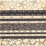 Scenic Route Paper - Designer Scrap Strips - Double Sided Cardstock - Cape Town 3
