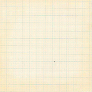 Scenic Route Paper - Background Office Collection - 12x12 Cardstock - Worn Blue Grid