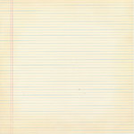 Scenic Route Paper - Background Office Collection - 12x12 Cardstock - Worn Lined Paper