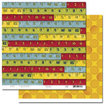 Scenic Route Paper - Appleton Collection - 12x12 Double Sided Paper - 3rd Street - School, CLEARANCE