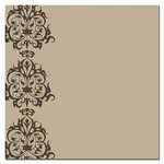 Scenic Route Paper - Sonoma Collection - 12 x 12 Kraft Paper - Ornamental