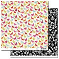 Scenic Route Paper - Laurel Collection - 12x12 Doublesided Cardstock - Rookery Road, CLEARANCE