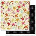 Scenic Route Paper - Laurel Collection - 12x12 Doublesided Cardstock - Marina Drive