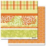 Scenic Route Paper - Ashville Collection - 12x12 Paper - Scrap Strip 2, CLEARANCE