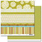 Scenic Route Paper - Sumner Collection - 12x12 Paper - Scrap Strip 1, CLEARANCE