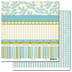 Scenic Route Paper - Sumner Collection - 12x12 Paper - Scrap Strip 2, CLEARANCE