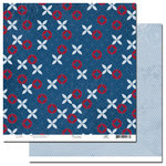 Scenic Route Paper - Liberty Collection - 12x12 Double Sided Paper - Johnson Street, CLEARANCE