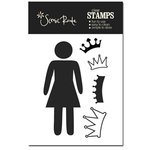 Scenic Route Paper - Acrylic Clear Stamp - Woman, CLEARANCE