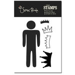 Scenic Route Paper - Acrylic Clear Stamp - Man, CLEARANCE