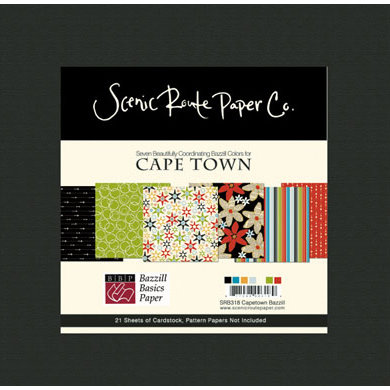 Scenic Route Paper - Bazzill Cardstock Collection Packs - Cape Town