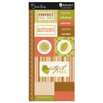 Scenic Route Paper - Sumner Collection - Chipboard - Autumn, CLEARANCE