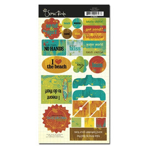 Scenic Route Paper - Grafton Collection - Chipboard - Beach, CLEARANCE