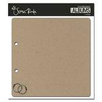 Scenic Route Paper - Chipboard Album - 8 Inch Square - Plain