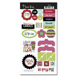 Scenic Route Paper - Surprise Collection - Chipboard - Surprise, CLEARANCE