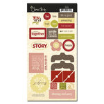 Scenic Route Paper - Sonoma Collection - Chipboard - Happy Together