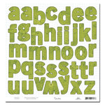 Scenic Route Paper - Appleton Collection - 12x12 Die Cuts - Alphabet - School, CLEARANCE
