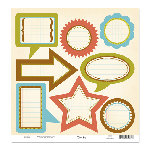 Scenic Route Paper - Sumner Collection - Die Cuts - Journaling Sumner, CLEARANCE