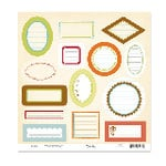 Scenic Route Paper - Die Cuts - Journaling Labels, CLEARANCE