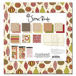 Scenic Route Paper - Christmas - Collection Pack - Garland, CLEARANCE