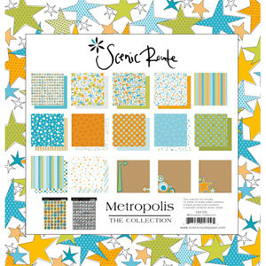 Scenic Route Paper - Collection Packs - Metropolis