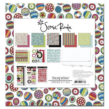 Scenic Route Paper - Surprise Collection - Product Kit - Surprise - Birthday, CLEARANCE