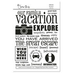 Scenic Route Paper - Rub Ons - Vacation, CLEARANCE