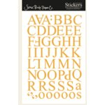 Scenic Route Paper - Parker Alphabet - Gold