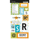 Scenic Route Paper - Stickers - Metropolis - Monogram QURS, CLEARANCE
