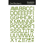 Scenic Route Paper - Stickers - Redmond Alphabet - Green