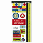 Scenic Route Paper - Appleton Collection - Cardstock Stickers - Appleton - School, CLEARANCE