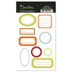 Scenic Route Paper - Ashville Collection - Cardstock Stickers - Labels