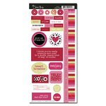 Scenic Route Paper - Loveland Collection - Valentine's Day - Stickers - Loveland, CLEARANCE