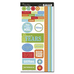 Scenic Route Paper - Providence Collection - Cardstock Stickers - Friends