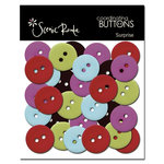 Scenic Route Paper - Surprise Collection - Coordinating Buttons, CLEARANCE
