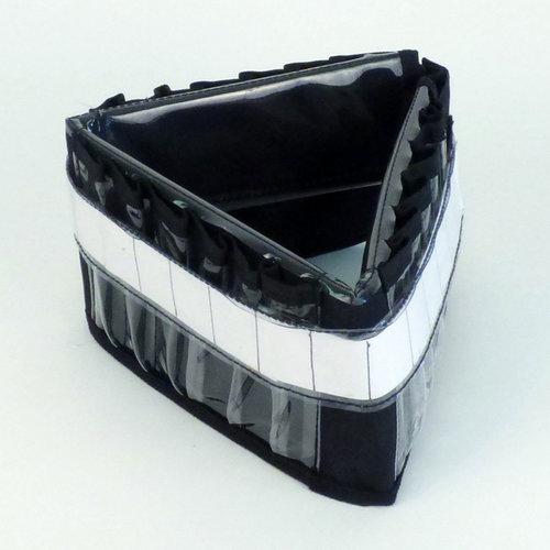 Totally Tiffany - Tri-Fold Color Keeper - Black