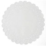 SRM Press Inc. - 6 Inch White Lace Doilies