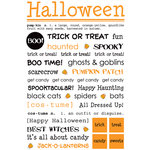 SRM Press Inc. - Halloween Collection - Stickers - Express Yourself - Halloween, CLEARANCE