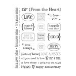 SRM Press Inc. - Card Collection - Stickers - Sentiments - Love