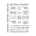 SRM Press Inc. - Card Collection - Stickers - Sentiments - Thank You