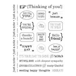 SRM Press Inc. - Card Collection - Stickers - Sentiments - Thinking Of You