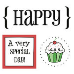 SRM Press Inc. - Card Collection - Stickers - Quick Cards - Happy
