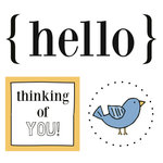 SRM Press Inc. - Card Collection - Stickers - Quick Cards - Hello