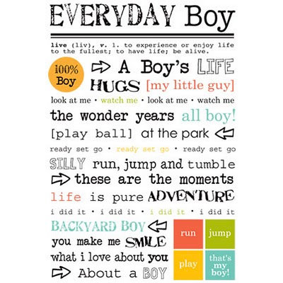 SRM Press Inc. - Stickers - Express Yourself - Everyday Boy