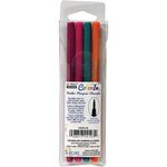 Marvy Uchida - Color In - Markers - Brush Point - Bright - 4 Pack