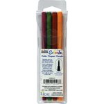 Marvy Uchida - Color In - Markers - Brush Point - Natural - 4 Pack