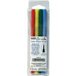 Marvy Uchida - Color In - Markers - Brush Point - Bold - 4 Pack
