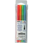 Marvy Uchida - Color In - Markers - Brush Point - Neon - 4 Pack