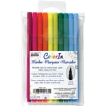 Marvy Uchida - Color In - Markers - Fine Point - Bright - 10 Pack